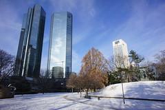 Frankfurt snow