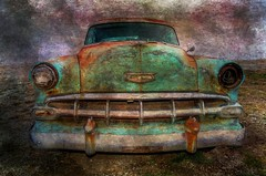 One Eyed Jack (TicKavich) Tags: classic texture car chevy photomix besteverdigitalphotography