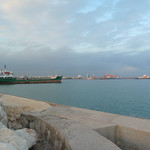 """From the breakers, looking back on Mersin <a style=""""margin-left:10px; font-size:0.8em;"""" href=""""http://www.flickr.com/photos/59134591@N00/8270169584/"""" target=""""_blank"""">@flickr</a>"""