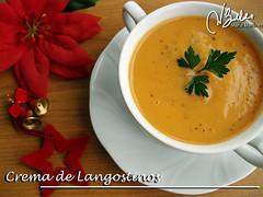 Crema de langostinos o gambones (Crucero) (Maria Martinez Dukan) Tags: christmas cruise food recipes diet lowcarb phase crucero dukan mariamartinez mmb2412