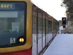 """-dorf"" (Steys) Tags: schnee winter snow berlin train frost december 5 zug sbahn publictransport dezember signal 2012 pnv hennigsdorf sbahnhof s25 zat lankwitz 2221 guessedberlin gwbwutzkman scheinenwerfer"