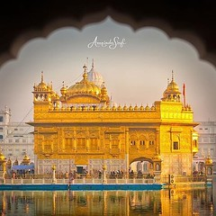"""""""Harimandir literally means House of God. It is one of the most serene places in the world and a symbol of brotherhood and equality . Sikhs most important place of worship whose foundation stone was laid by a Muslim Saint and the 4 doors welcome the peopl (sikhexpo) Tags: sikh sikhexpo punjab punjabi sikhi sikhism kaur singh"""