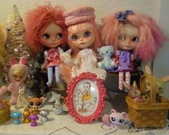 girls on a shelf