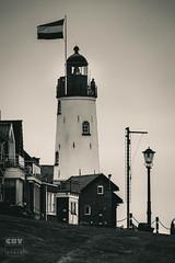 Urk - Lighthouse (Boudewijn Vermeulen) Tags: lighthouse zwartwit vuurtoren urk publ