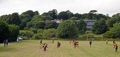 Penryn Athletic 2, Troon 4, Trelawny League Premier Division, August 2016 (darren.luke) Tags: cornwall cornish football landscape nonleague grassroots penryn fc troon