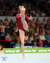 Deutsche Meisterschaft im Kunstturnen 2016  (56) (Enjoy my pixel.... :-)) Tags: sport turnen alsterdorfersporthalle hamburg 2016 deutschemeisterschaft dtb gymnastik gymnastic girl woman sexy pretty deutschland