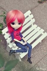 My favorite place (Au Aizawa) Tags: pullip lunarosa tokidoki japanese fashion doll jeans