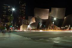 Walt Disney Concert Hall  (tnicholsonphotography) Tags: losangeles la downtown longexposure lights disney waltdisneyconcerthall nikon