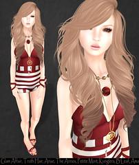 LOTD# 931 (Annika Neiro - Just addicted to fashion Blog) Tags: ama arise bleaf glamaffair kunglers lostandfoundevent petitemort theannex theseasonsstory truthhair