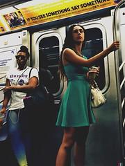 Melissa (ShelSerkin) Tags: shotoniphone hipstamatic iphone iphoneography squareformat mobilephotography streetphotography candid portrait street nyc newyork newyorkcity gothamist
