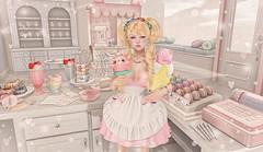 My Patisserie (Gabriella Marshdevil ~ BUSY IRL) Tags: sl secondlife vco sweetthing thearcade gacha cute kawaii doe halfdeer ninety