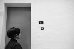 cat house (sasha_han) Tags: chinese girl singapore singaporean explore exploring asian asia bnw blackandwhite unedited cat 32 door house outsider photo photographer digital canon 550d canon550d friend walking walk alley raw