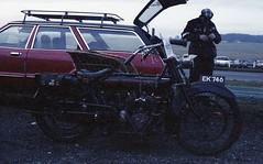Reg: EK 746 (bertie's world) Tags: sunbeam pioneer run 1979 epsomdowns motorcycles reg ek746
