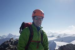 Summit - Mont Blanc de Cheilon (3870m) (Riverman___) Tags: alps switzerland val pignedarolla montblancdecheilon valais mountaineering outdoors sky mountain glacier hill hike alpinism scrambling climbing climb valdherens evolene arolla