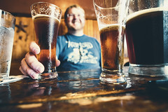 Always a Good Time For a Cold One (RickCaldera) Tags: beer cold portrait pitcher