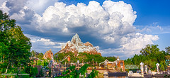 Expedition Everest at #AnimalKingdom Disney 2016 (Mickey Views) Tags: disney animalkingdom everest expedition wdw disneyworld waltdisneyworld landscape hdr hdr2016 hdrdisney 2016 2016disney mickeyviews mountain sky bluesky