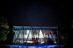 Aircraft Museum under the Stars (DeGrandDuke) Tags: fligermuse mondorflesbains mondorf aircraft museum stars night luxembourg nikon longexposure walimex building