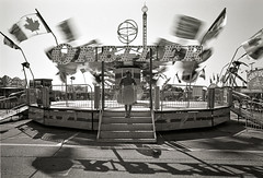 """Orbiter"" (The Nexus) Tags: 2016 summer cne blur bw blackandwhite film leicam7 35mmsummiluxpreasph toronto efke25 rodinal1100"