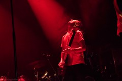 Moses (redrospective) Tags: 2016 20160908 islingtonacademyhall london moses september2016 concert electricguitar gig guitar guitarist instruments live music musicians people red spotlights white