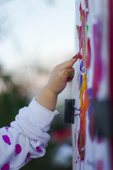 Sentir (Roesvisa) Tags: finger painting fingerpaint dedos mano pintar dedospintados pintura arte nio girl boy color coleres nia touch tocar art feel