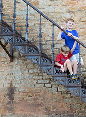 rockthesr (babyfella2007) Tags: jason taylor carson grant victorian stair steps staircase rock granite building architecture telephone booth old town winnsboro southern living iron cast road house child boy michelle young brother mother family clock police car officer box shipping