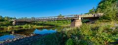 Cool Steel Bridge Over A Brook (James P. Mann) Tags: steel bridge brook creek river new brunswick