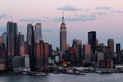 Sunset on west Manhattan_4747 Empire State (ixus960) Tags: nyc newyork america usa manhattan city mgapole amrique amriquedunord ville architecture buildings nowyorc bigapple