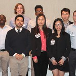 Aon student group photo