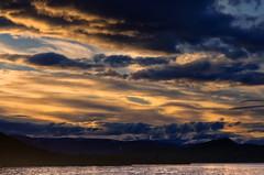 Abend am Lemonsjn (efgepe) Tags: 2016 skandinavien see wolken clouds sea lemonsjn norge norwegen noreg norway lightroom viveza nik abend evening