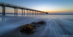 Seaweed Sunset (ihikesandiego) Tags: scripps pier sunset la jolla san diego ocean