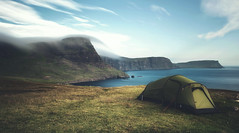 Beautiful Life (Davide Arizzi) Tags: 2016 agosto europe lighthouse neist neistpoint scottish scozia skye travel ligthouse camp tent outdoor scotland uk daylight longexposure