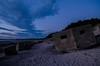 WW2 pillbox ext2 (gazcam77) Tags: scotland sunset kinloss roseisle pillbox nikon nikond5100 beach firesky
