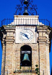 (Luca3803) Tags: ore ora hours hour clock bellstower belltower bells bell orologio italy italia church campana chiesa campanile