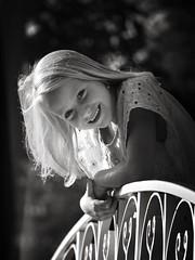 Joyful (heidikesteloot) Tags: mextures photography portrait brigde nature child girl smile joy