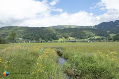 Running (HendrikMorkel) Tags: austria family sterreich bregenzerwald vorarlberg sonyrx100iv mountains alps alpen berge barfusswegbizau barefoottrailbizau