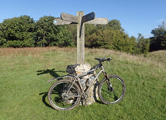South Downs Way in a Day (Free.heel) Tags: southdownsway lynskeyridgeline29er lynskey shimanoxtm785disctubeless continentaltrailking garmin