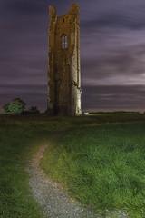 Yellow Steeple IMG_8774 1920x (andrew ellis) Tags: yellow steeple trim meath ireland moon night tower