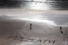 Polzeath (Brook Fabling) Tags: polzeath beach sand sea writing cornwall