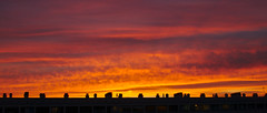 Sunset (smooth.bokeh) Tags: sky ciel coucher soleil toits nuages sunset roofs share clouds
