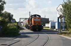 Emmerich, straatspoor (Ahrend01) Tags: bocholter eisenbahn straatspoor emmerich hafen kao industrie