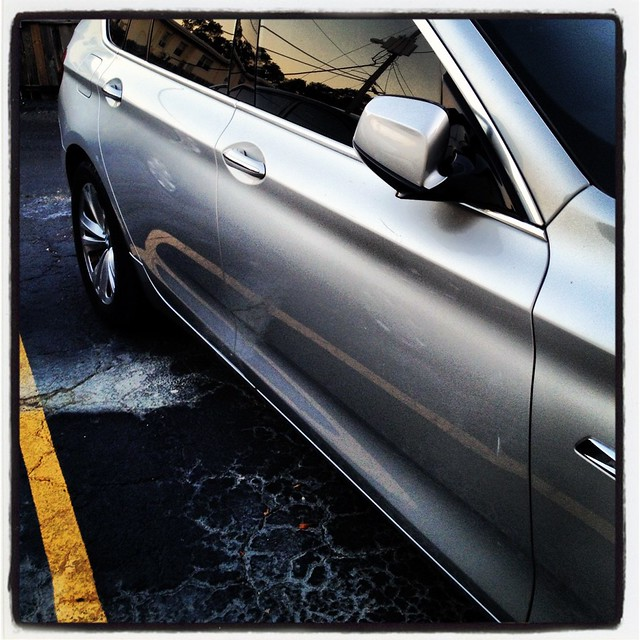 reflection car silver tampa automobile florida clean wash german bmw gran gt turismo 535 instagram