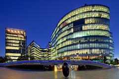 More London riverside (TIM BRUENING  PHOTOGRAPHY) Tags: greatbritain england london architecture riverside architektur bluehour dri blauestunde wonderworld flickraward canon5dmarkii tse17mm flickrtravelaward smilingphotographers