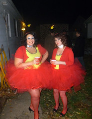 Ladies hot DAMN at Kari and Owen's Halloween Party 2012 (benchilada) Tags: party halloween kari owen 2012