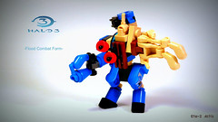 Elite Flood Combat Form (Eta-2 Actis) Tags: 2 lego flood rifle halo elite plasma form combat evolved halo3 forerunner