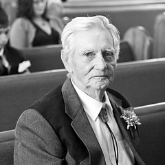 Grooms Grandfather (rspphoto.net) Tags: wedding 35mm groom blackwhite grandfather f2