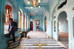 City Palace (A Jacona) Tags: blue india islam palace rajasthan udaipur citypalace blueroom maharaja 17mmtse captureonepro7 aravalimontains