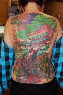 James Danger Harvey, Color tattoowork, skin gallery Tattoo 5739 Auburn blvd sacramento ca 95841 (93)