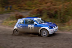 Ford Ka at the Malton Forest Rally 2012 (Chris McLoughlin) Tags: matsmith chrismcloughlin maltonforestrally neilcolls slta77 sonyslta77v