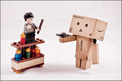 Magic Spells! (GManVespa) Tags: cute canon toy lego bottles harry potter spell potions danbo wond danboard