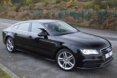 Audi A7 - Front view (BuddaBoy) Tags: audi a7 sline wiggisland